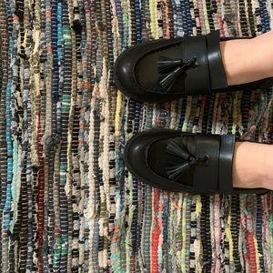 Black Retro Dress Shoes